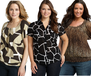 Plus Size Women's Designer Clothing Michael Kors Plus Size