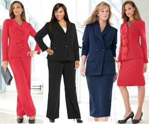 Women s Plus Size Business Suits