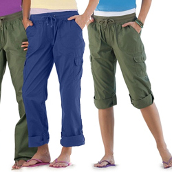 Plus Size Convertible Pants