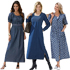 Plus Size Denim Dresses