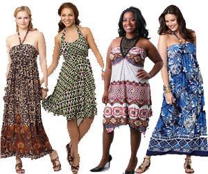 Plus Size Halter Dresses