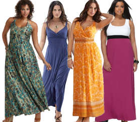 Plus Size Maxi Dresses