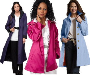 Plus Size Rain Coats