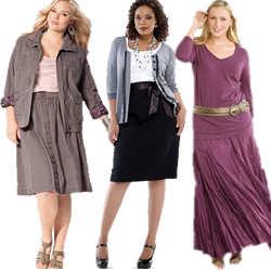 Women's Plus Size Skirts