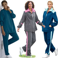 Plus Size Sweat Pants & Plus Size Fleece Pants