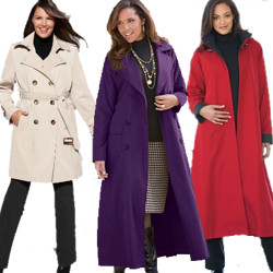 Plus Size Trench Coats