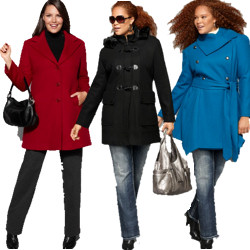 Plus Size Wool Coats
