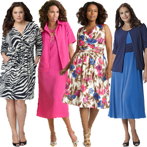 Fashionable and cheap trendy clothes for plus size women