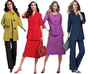 Plus Size Business Clothing