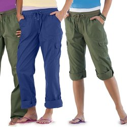 Plus Size Convertible Pants