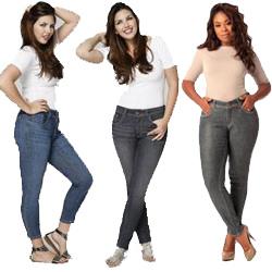 Plus Size Designer Jeans