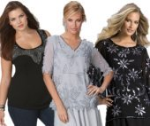 Plus Size Beaded Tops
