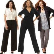 Women's Plus Size Dress Pants