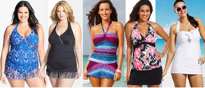 plus-size-halter-swimsuits
