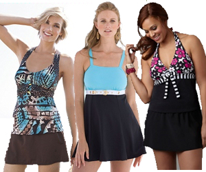 Discount plus size swimsuits