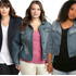 Plus Size Jean and Denim Jackets