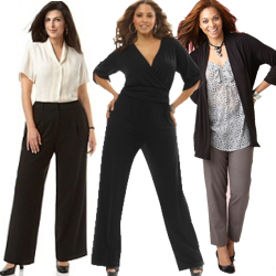 PLUS SIZE DRESS PANTS - Kapres Molene
