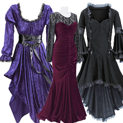 Plus Size Gothic Dresses