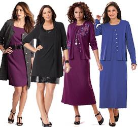 Plus Size Jacket Dresses