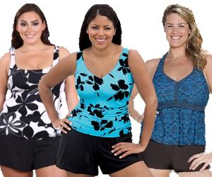 Plus-Size-Swim-Shorts