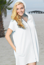 Traditional Style Plus Size Swimsuit Coverup