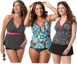 plus-size-tankini-swimwear