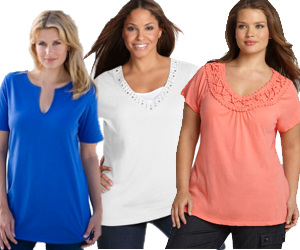 caf42ae9 Women's Plus Size Tops