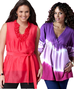 Plus Size Tunics