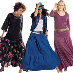 Trendy Plus Size Skirts