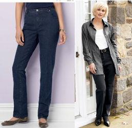 Classic Plus Size Jeans