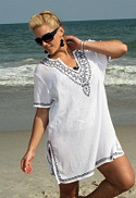 Plus Size Cover Up Tunic