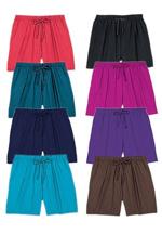 Plus Size Coverup Shorts