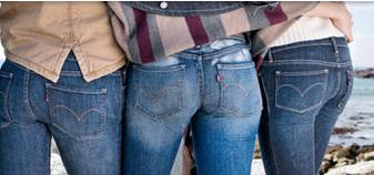 Plus Size Levi Jeans