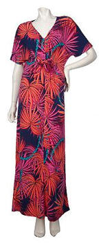 short sleeve plus size maxi dress