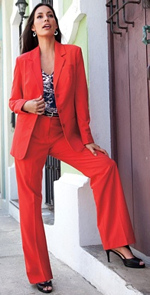 Plus Size Pant Suit