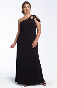 Plus Size Special Occasion Black Dress