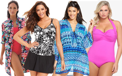 2014 Plus Size Swimsuits