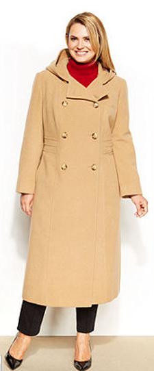 Plus Size Anne Klein Coat
