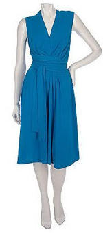 Sleeveless Plus Size Wrap Dress