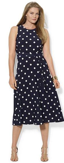 Plus Size Ralph Lauren Dress