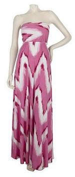 strapless plus size maxi dress