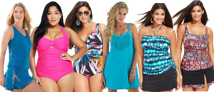 2014 Plus Size Swimsuit Trends