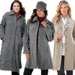 Women's Plus Size Coats