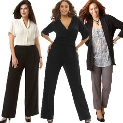 Women's Plus Size Dress Pants