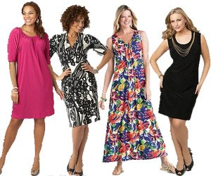 Plus Size Petite Dresses
