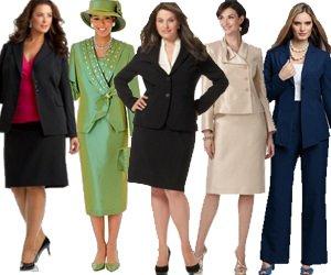 Women\'s Plus Size Suits