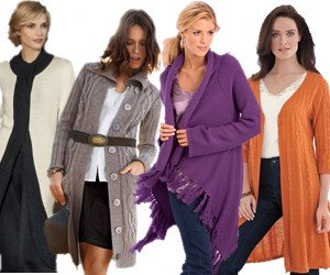 Plus Size Sweater Coats