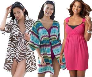 c4731be5a9be9 Plus Size Swimsuit Coverups. Choosing great plus size cover ups can make a  ...
