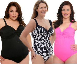 Plus Size Underwire Swimsuit