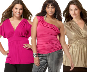 Plus Size Sexy Tops